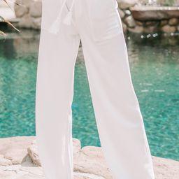 Avery Wide-Leg Pants   Amaryllis Apparel
