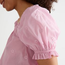 Puff Sleeve Ruffle Top | & Other Stories