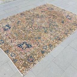 Vintage large turkish rug big size rug oversize rug turkish | Etsy | Etsy (US)