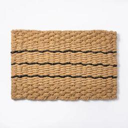 "1'9"" x 2'10"" Braided Doormat - Threshold™ designed with Studio McGee   Target"