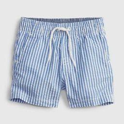 Baby Pull-On Seersucker Shorts | Gap (US)