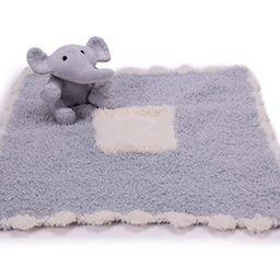 Barefoot Dreams CozyChic Pocket Buddie, Newborn and Baby Blanket with Soft Stuffed Animal   Amazon (US)