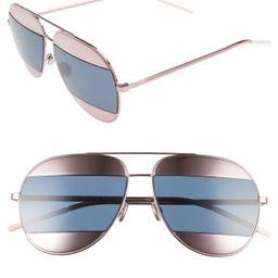 Dior   59mm Split Aviator Sunglasses   Nordstrom Rack   Nordstrom Rack