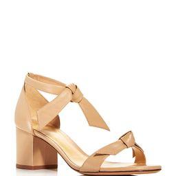 Women's Clarita Ankle Tie Block Heel Sandals | Bloomingdale's (US)