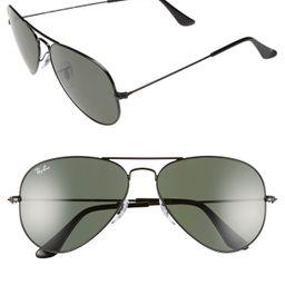 Standard Original 58mm Aviator Sunglasses   Nordstrom