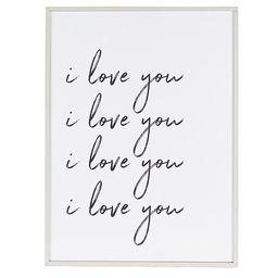 I Love You Large Plaque Nursery Decor | Dillards