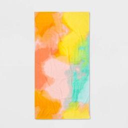 Tie Dye Printed Beach Towel - Sun Squad™   Target