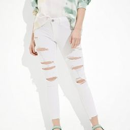 AE Ne(x)t Level Ripped Jegging Crop | American Eagle Outfitters (US & CA)