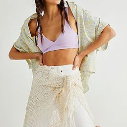 Juno Crochet Tassel Sarong Scarf | Free People (US)