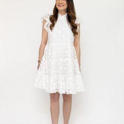 Victoria Eyelet Dress | Sail to Sable
