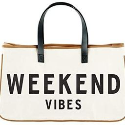 """Creative Brands D3712 Hold Everything Tote Bag, 20"""" x 11"""", Weekend Vibes, beach bag 