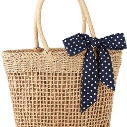 YXILEE Straw bag - beach bags for women handbags totes - Weaving Vacation Bag - Summer purses - B... | Amazon (US)