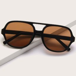 Tinted Lens Sunglasses | SHEIN