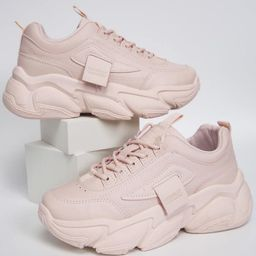 Lace-up Front Chunky Sneakers | SHEIN