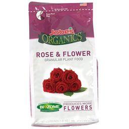Jobe's 09423 Organics Flower & Rose Granular Fertilizer with Biozome, 4 pound bag   Walmart (US)