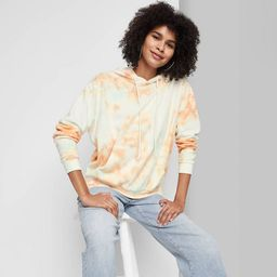 Women's French Terry Hooded Sweatshirt - Wild Fable™ | Target