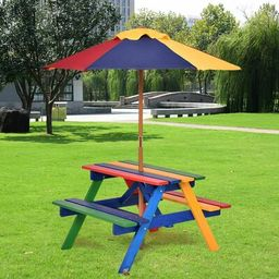 LinoLakes Kids Picnic Table Zoomie Kids | Wayfair North America
