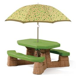 Step2 Patio Tables - Kids Picnic Table & Umbrella | Zulily