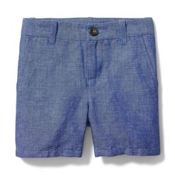 Chambray Linen Short | Janie and Jack