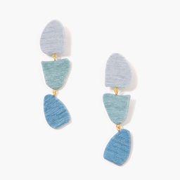 Harbor Blue Callan Drop Earrings   Tuckernuck (US)