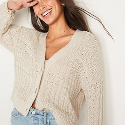 Lightweight Cable-Knit Cardigan Sweater for Women   Old Navy (US)