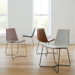 Slope Upholstered Dining Chair   West Elm (US)