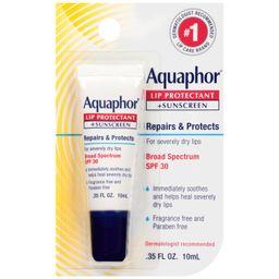 Aquaphor Lip Protectant and Sunscreen, SPF 30, Lip Balm For Chapped Lips | Walmart (US)