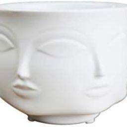 Head Face Vase, Ceramic Vase Plant Pot Modern Ceramic Vase Home Decoration Succulent Cactus Indoo... | Amazon (CA)