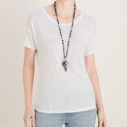Relaxed Linen Tee   Chico's