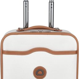 DELSEY Paris Chatelet Soft Air Luggage Under-Seater with 2 Wheels, Champagne, Carry-on 16 Inch | Amazon (US)