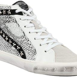 VINTAGE HAVANA Womens Kate Snake Hi Sneakers Shoes Casual - Silver | Amazon (US)