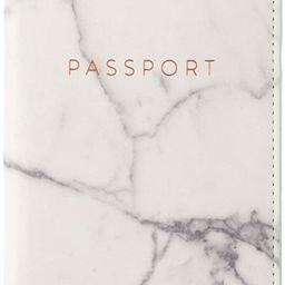 Eccolo World Traveler Travel Passport Cover Case with Storage Pocket, Marble, 6.4X4 | Amazon (US)