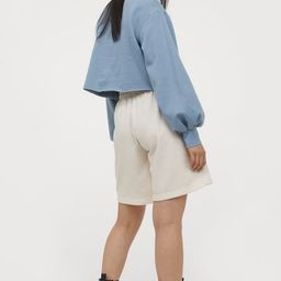 Wide-leg Sweatshorts | H&M (US)