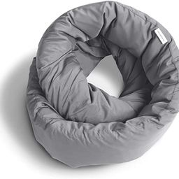 Huzi Infinity Pillow - Home Travel Soft Neck Scarf Support Sleep (Grey)   Amazon (US)