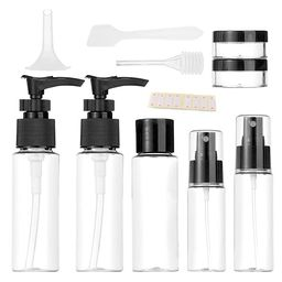 Vitog Travel Bottles Kit, TSA Approved Leak Proof Portable Toiletry Containers Set, Clear flight ...   Amazon (US)