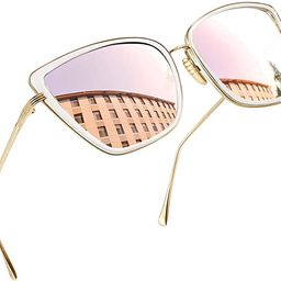 Joopin Oversized Cateye Sunglasses for Women, Elegant Metal Frame Cat Eye Womens Sunglasses   Amazon (US)