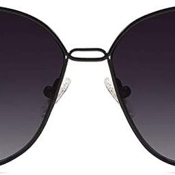 SOJOS Fashion Square Aviators Sunglasses for Women Flat Mirrored Lens SJ1082 | Amazon (US)