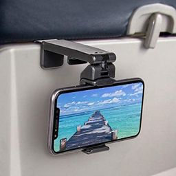 Universal Airplane in Flight Phone Mount. Handsfree Phone Holder for Desk with Multi-Directional ...   Amazon (US)