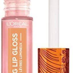 L'Oreal Paris Makeup Summer Belle Makeup Collection, Glowing Lip Gloss, Sea You Soon, 0.21 oz.   Amazon (US)