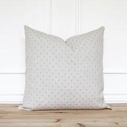 Beige Dot Pillow Cover • Neutral Pillow Covers • Designer Pillows •  Linen Pillow Cover •...   Etsy (US)