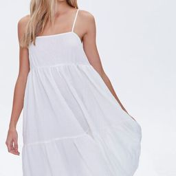 Textured Flounce Cami Dress   Forever 21 (US)
