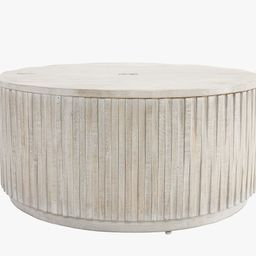 """Coloma 40"""" Round Storage Coffee Table 