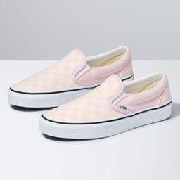 Checkerboard Slip-On   Shop Classic Shoes At Vans   Vans (US)