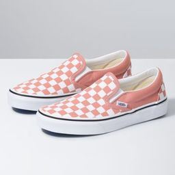 Checkerboard Classic Slip-On   Shop Womens Shoes At Vans   Vans (US)