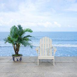 Burgess Solid Wood Adirondack Chair Color: White | Wayfair North America