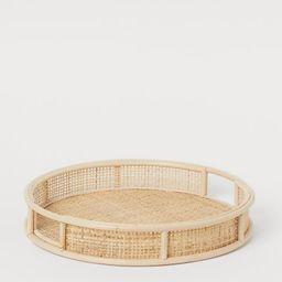 Round Rattan Tray | H&M (US)