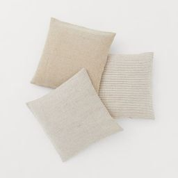 3-pack Cushion Covers | H&M (US)
