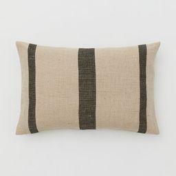 Jute-blend Cushion Cover | H&M (US)