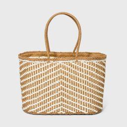 Straw Tote Handbag - A New Day™   Target