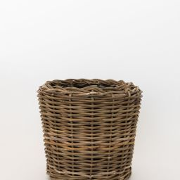 Lined Rattan Basket | McGee & Co.